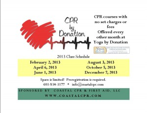 CPR by Donation 2013