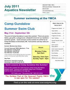 Aquatics Newsletter 1.7 July 2011 page 1