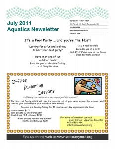 Aquatics Newsletter 1.7 July 2011 page 4